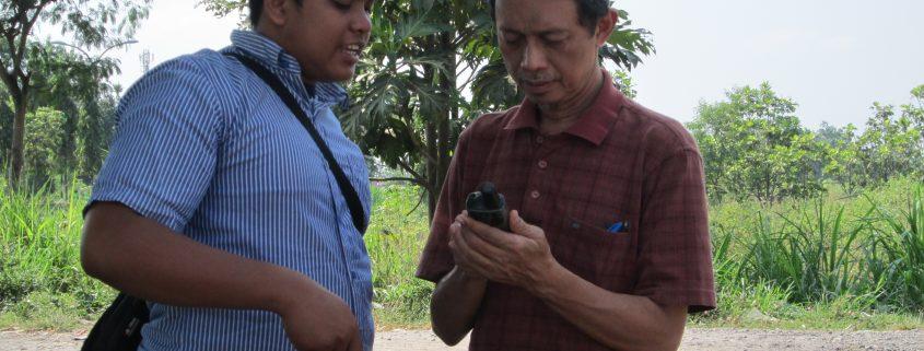 Penggunaan GPS di Lapangan