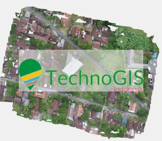 Hasil pemotretan udara menggunakan UAV kawasan yang akan dijadikan villa
