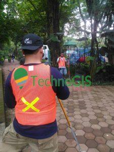 pengukuran topografi bandung zoo oleh technogis 4