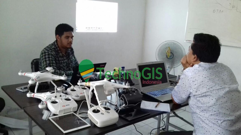 pelatihan pemetaan menggunakan drone technogis indonesia 2018