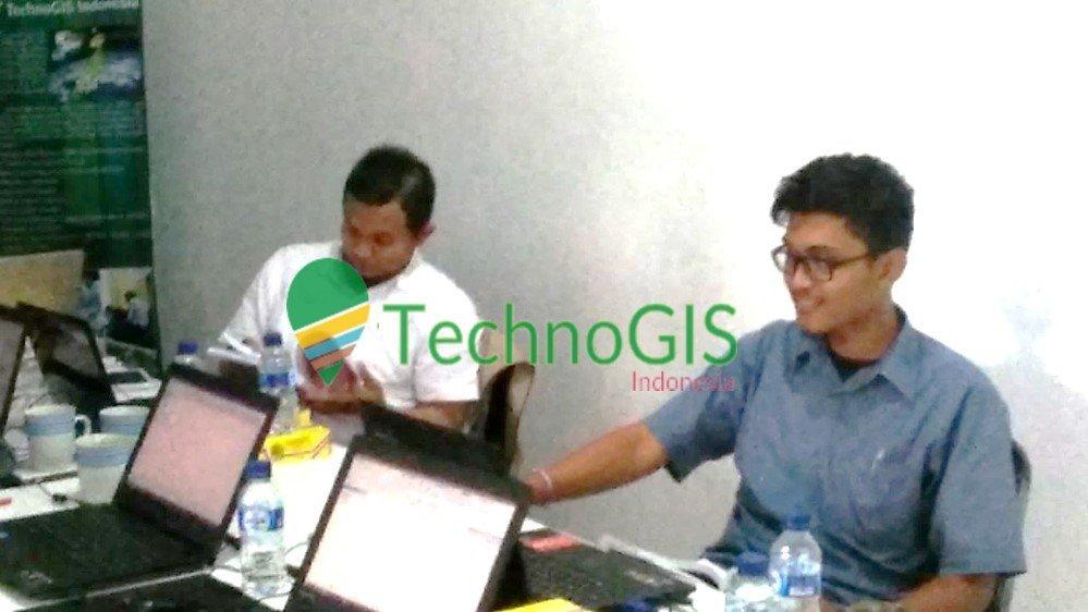 Pelatihan GIS Advanced Badan Penelitian Dan Pengembangan Kesehatan RI Baturaja di technogis indonesia tahun 2018 2