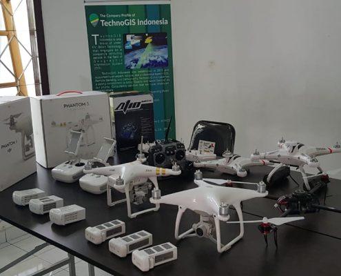 peralatan drone untuk jasa foto udara technogis