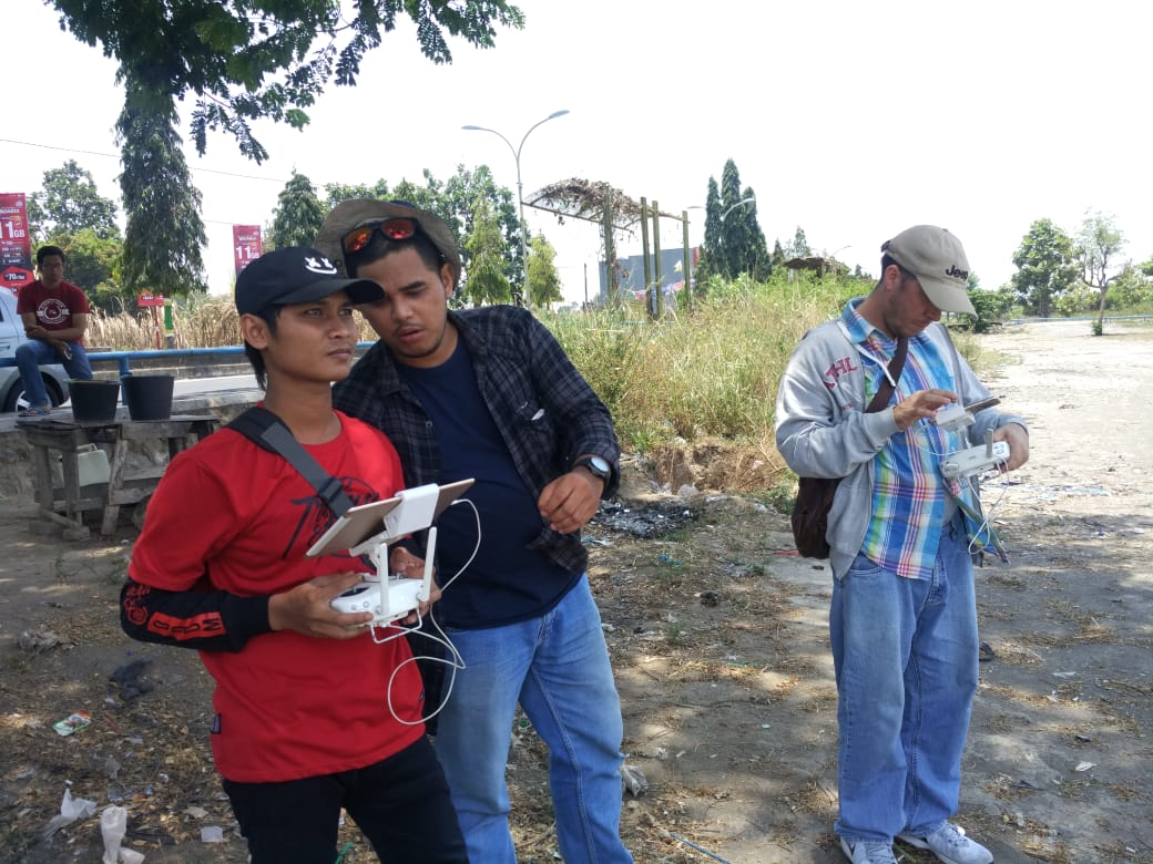pelatihan drone mifa bersaudara di technogis indonesia