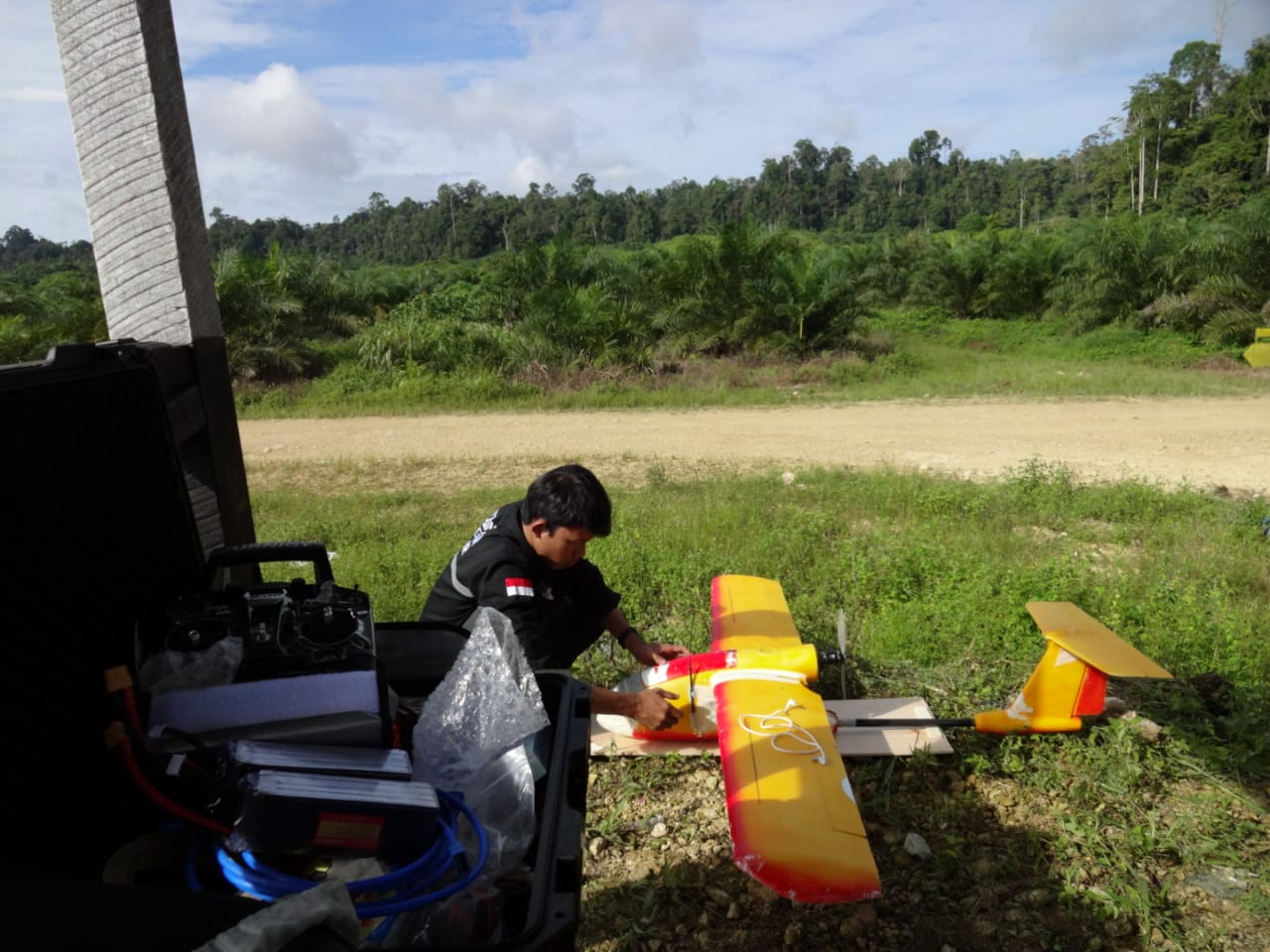 pemotretan sawit technogis indonesia 2018